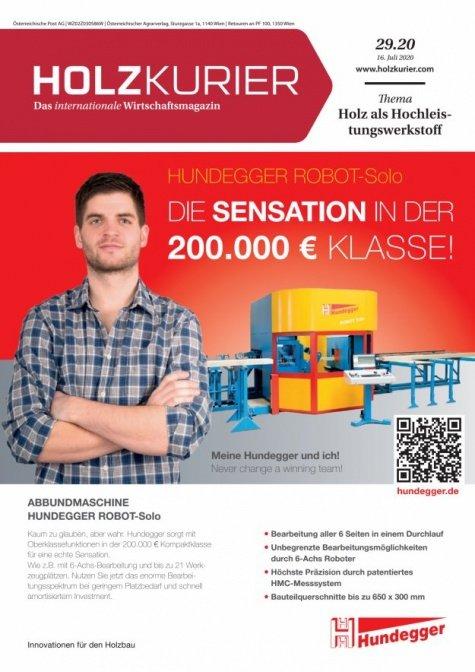 Holzkurier Digital Nr. 29.2020
