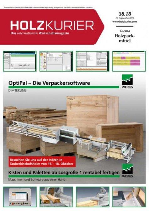 Holzkurier Digital Nr. 38.2018