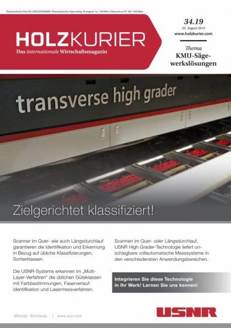 Holzkurier Digital Nr. 34.2019