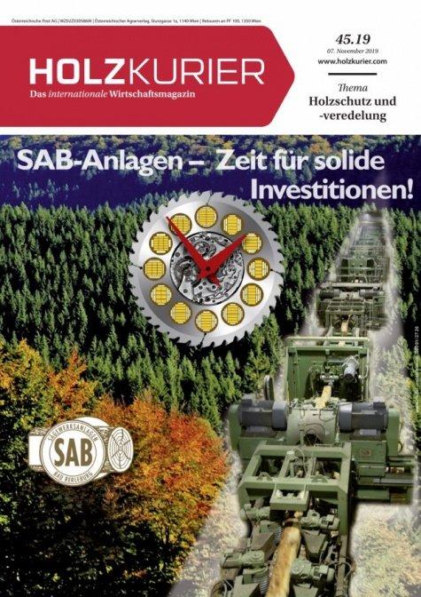 Holzkurier Digital Nr. 45.2019