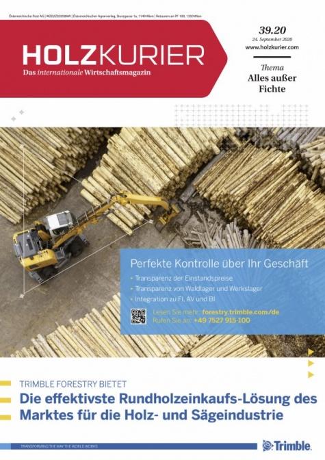 Holzkurier Digital Nr. 39.2020
